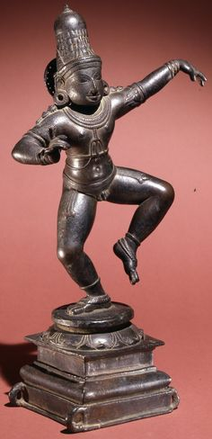 Thirugnanasambandar. Chola style bronze. Circa 12th century. Height 43.3 cms.