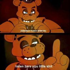 When people say fnaf is stupid...