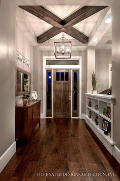 I like the mix of wood and white