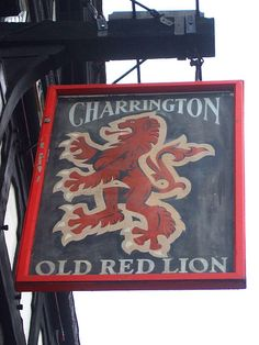 The Old Red Lion - Pub Sign London SE11