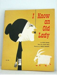 I know an old lady book