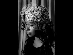 ▶ I just couldn't find the right one, until I watched this Birdcage Veil Tutorial - YouTube