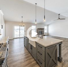 """Figure out additional details on """"outdoor kitchen countertops"""". Check out our web site. Industrial Style Kitchen, Rustic Kitchen Design, Home Decor Kitchen, New Kitchen, Kitchen Black, Kitchen Designs, Refacing Kitchen Cabinets, Kitchen Countertops, Single Bowl Kitchen Sink"""