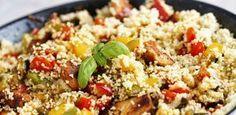 Descubra aqui uma receita de cuscuz marroquino super prático, delicioso e nutritivo! Uma ótima opção para variar o arroz e a massa nossa de todo dia.