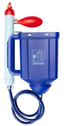 The LifeStraw Family gravity-based water filter(view larger). Safe Purified Water for Home Camping and More The award-winning world-renowned LifeStraw Family large volume water fi. Survival Food, Outdoor Survival, Survival Prepping, Emergency Preparedness, Survival Skills, Emergency Kits, Survival Stuff, Outdoor Camping, Emergency Preparation