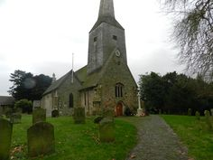 St Mary Magdelene Church, Cowden, Kent, England.