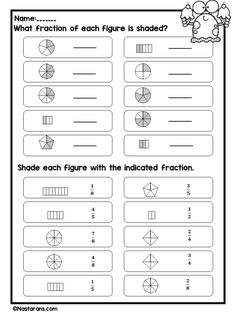 Fraction Worksheets For Grade 3 , Equivalent Fraction, Comparing, and Freebie,Number Line activities ,Equivalent Fraction