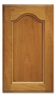 The Bordeaux cabinet door takes a simplistic flat inset panel look and adds a touch of class with the raised arch panel. Pick from your choice of wood grains and species for the perfect final touch. Shaker Cabinet Doors, Cabinet Fronts, Cabinet Door Styles, Shaker Cabinets, Kitchen Cabinet Doors, Double Door Design, Custom Cabinets, Double Doors, Bordeaux