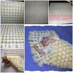 diy baby pom pom blanket F Wonderful DIY Cozy Baby Pom Pom Blanket: