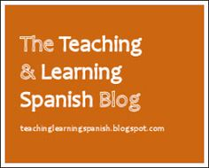 Teaching & Learning Spanish: by American teacher now using Spanish with her own children; blog offers many resources for Spanish learners but few personal anecdotes