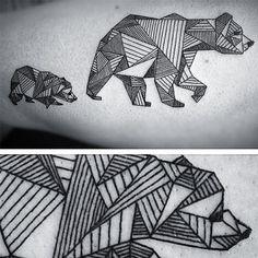 geometric bear - Google zoeken