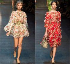 Dolce Gabbana Spring Summer 2014 Milan Fashion Week 25