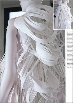 ★ Paper Dress by students of the Pratt Institute
