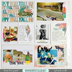Designer @idocumentlife is sharing her first PL spread using our #october2015 kits  This is gorgeous  @pinkpaislee Cedar Lane @americancrafts @amytangerine @dearlizzy #octoberkits #hipkits #hipkitclub #projectlife