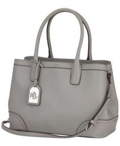 7e992c5391c8 Lauren Ralph Lauren Fairfield City Shopper Handbags   Accessories - Macy s