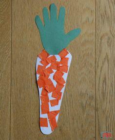Des carottes : collage pour tout-petit Collage, Little Rose, Puffy Paint, Toddler Activities, Animation, Blog, Education, Contour, Albums