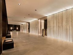 The PuYu – LAYAN DESIGN GROUP PTY LTD – Wuhan I like the lights behind the wall effect - good for our bar?