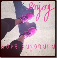 #wavesayonara