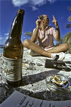 I hate to advocate drugs, alcohol, violence, or insanity to anyone, but they've always worked for me. — Hunter S. Thompson