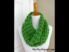 I Love The Look Of This Cilantro Cowl, And How Easy It Is Too! - Starting Chain