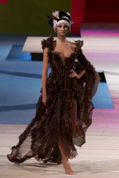 Christian Lacroix Spring/Summer 2002 Couture Collection   British Vogue