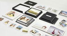 Moleskine Photo Books: http://www.milkbooks.com/moleskine/