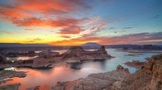 Webshots - View of Lake Powell From Alstrom Point, Utah