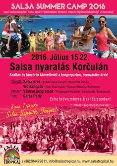 Korcula Croatia, Salsa Party, Nap, Camping, Summer, Movie Posters, Merengue, Campsite, Summer Time