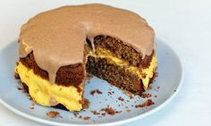 Clementine and cinnamon layer cake