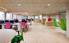 Wink Office by Stone Designs, Madrid (Spain) 2014 #wink #StoneDesigns #office #design