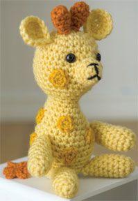 Little Crochet Giraffe Free Pattern
