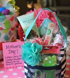 Mother's Day Gift Basket Thirty-One Littles Carry-All Caddy #31uses