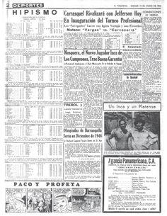 Primer campeonato profesional de beisbol Publicado el 12 de enero de 1946