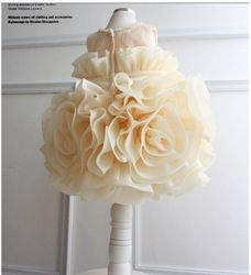 Online Shop 1 piece 2014 new baby Girl party Dresses Infant Party Princess cake Tutu big flower Dresses,Girls wedding Dress birthday dress|Aliexpress Mobile