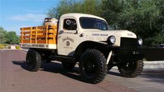 The Power Wagon is the original Dodge 4-wheel drive truck that has earned a reputation for tremendous pulling power and stamina. Powered by a 230cid 6 cylind...
