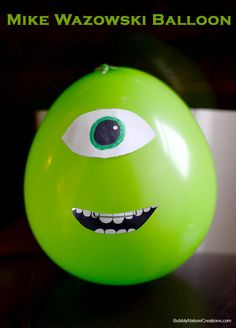 Mike Wazowski Balloon #shop