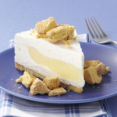 Lemon Surprise Cheesecake made with Girl Scout Lemonades