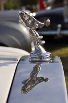 Rolls Royce hood ornament..Re-pin brought to you by #OregonInsuranceagents at #houseofinsurance in #EugeneOregon