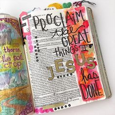 We love seeing the creativity and beauty that has flourished from #TheInspireBible. Thank you to all who have shared your images! :@biblejournaling http://ift.tt/1KAavV3