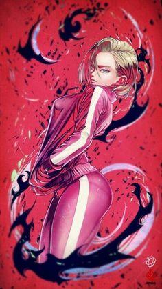 Android 18, Dragonball Anime, Dragon Ball Image, Chica Anime Manga, Goku Manga, Animes Wallpapers, Anime Art Girl, Manga Girl, Sexy Cartoons