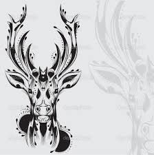 deer head vector - Google Search