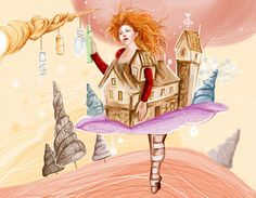 çizgili masallar: Alice in Wonderland by Maryna Rudzko