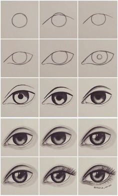 Step by step eye tutorial eyetutorial tutorial eye drawing otherpwHow to draw an eye~ This was done with alcohol markers, but could really be done with any material.Eye Tutorial by Drawing Tutorial for Occasional ArtistsPaigeeWorld is a community for Easy Drawing Tutorial, Eye Drawing Tutorials, Easy Drawing Steps, Eye Tutorial, Drawing Tips, Art Tutorials, Drawing Drawing, Drawing Faces, Easy Eye Drawing