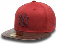 Faux NY Yankees 59Fifty Fitted Cap by NEW ERA x MLB