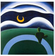 "Tarsila do Amaral, ""A Lua"", 1928."