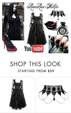 ReeRee Phillips (Outfit Idea) by jessieholloway13 on Polyvore featuring Dolce&Gabbana and Manic Panic