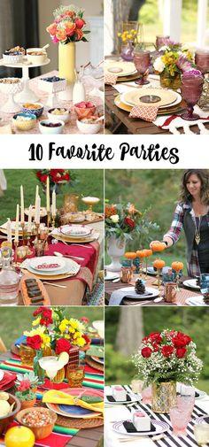 10 Favorite parties