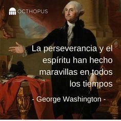 #SabíasQue George Washington sólo tuvo una educación elemental y que gracias a su perseverancia es considerado uno de los grandes líderes de la historia? Mantén el liderazgo en tu empresa. Lo demás, lo hacemos nosotros #AsistentesVirtualesOcthopus