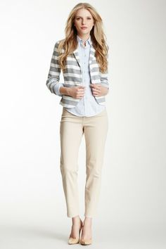 Alisha Fitted Ankle Pant by NYDJ on @HauteLook