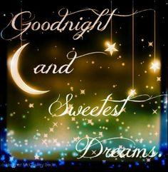 Good Night  Very full first day of power back on..still not caught up..:)